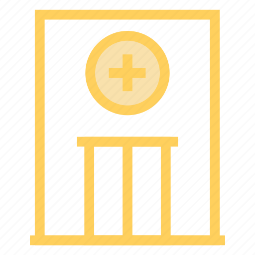 building, clinic, healthcare, hospital icon