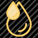 aqua, blood, drip, drop icon