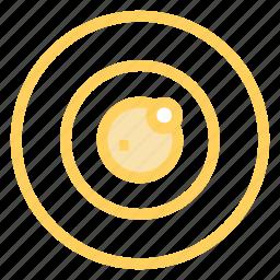 ball, eye, lens, optic icon