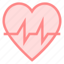 beat, healthcare, heart, life icon
