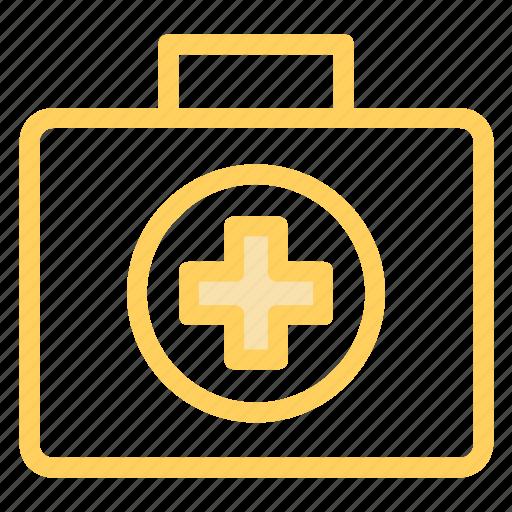 bag, doctor, kit, medical icon