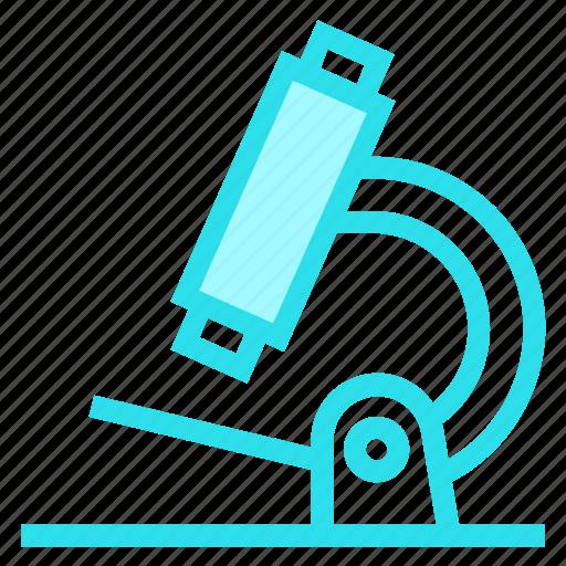 chemistry, lab, microscope, test icon
