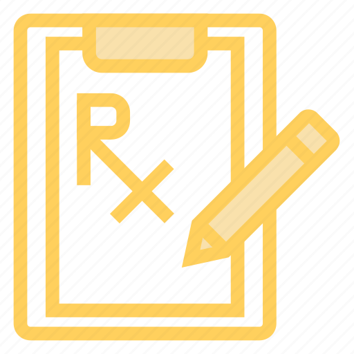 clipboard, document, pencil, report icon
