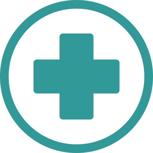 ambulance, cross, hospital icon
