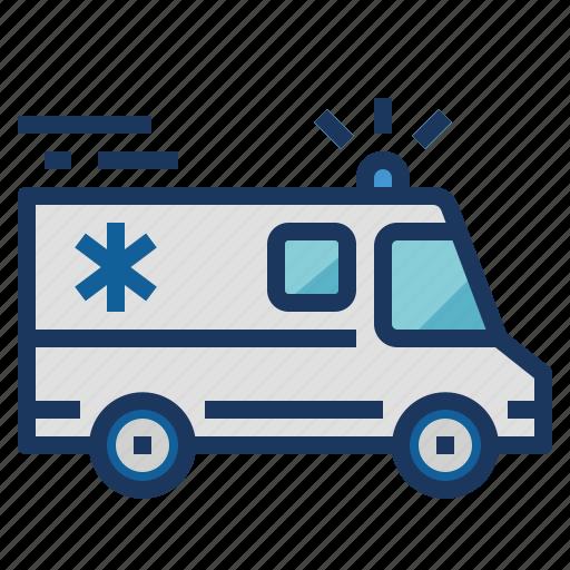 Ambulance, car, transport, van icon - Download on Iconfinder