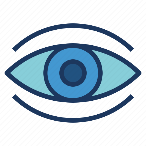 eye, impressions, overview, show, view icon
