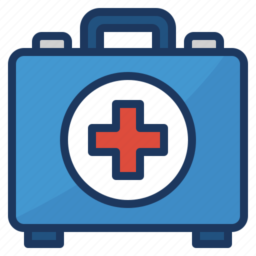 aid, emergency, first, kit icon