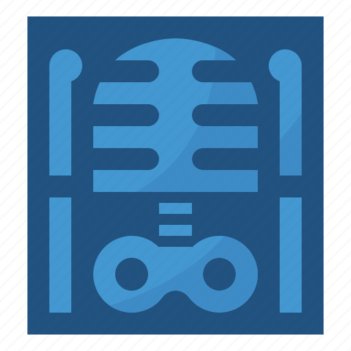 patient, radiology, skeleton, xray icon