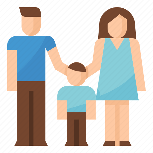 Family, father, mother, parents, son icon - Download on Iconfinder