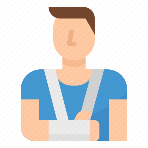 Hospital, injured, patient, sick icon - Download on Iconfinder