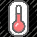 body temperature, health, healthy, temperature, thermometer icon