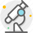 bacterium, germ, lab, laboratory, microscope, research, science icon