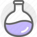 consider, discuss, experiment, reagents, research, study icon