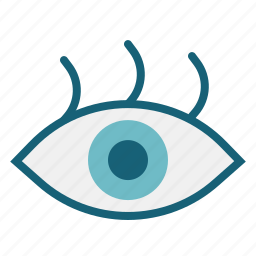 eye, medical, ophthalmology, optical, parts, vision icon