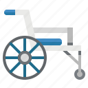 disabled, handicap, healthcare, medical, transport, wheelchair icon