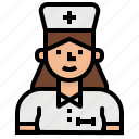 medicine, medical, hospital, nurse, avatar icon
