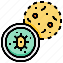 bacteria, check, health, medical, virus icon