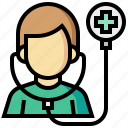 check, doctor, health, medical, stethoscope icon