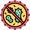 bacteria, checkup, germ, health, medical, virus icon