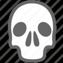 dead, death, life, skull icon