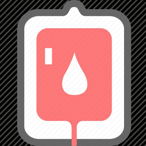 blood, blood bag, life icon