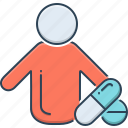 child, child patient, patient, pills, sickness