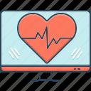 ehealth, healthcare, heart, heartbeat, online