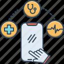 cellphone, mhealth, online, prescription, record