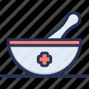 grinding, helthcare, medicin, mortar, pestle