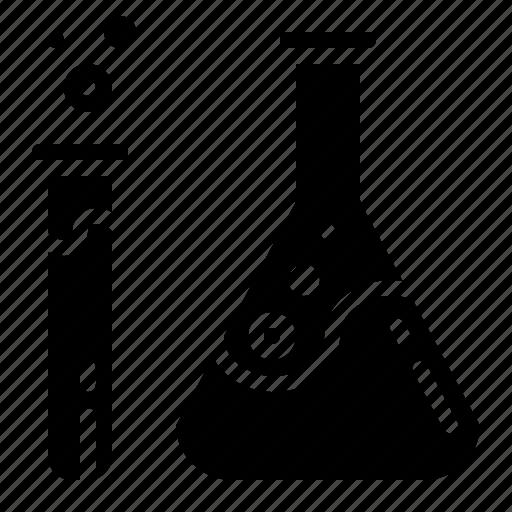 bottle, chemistry, health, healthcare, laboratory, medical, tube icon