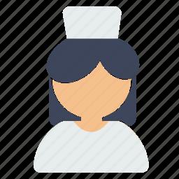 avatar, employment, nurse icon