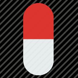 capsule, drugs, medic, medical, medicine, pill icon
