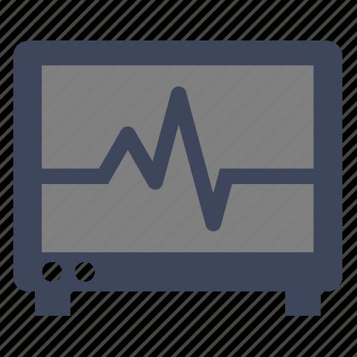electrocardiogram, heartbeat, heartbeat screen, lifeline, monitor, pulse rate, x-ray icon