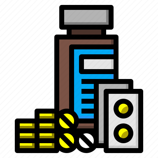 bowl, medical, medicine, tablet icon