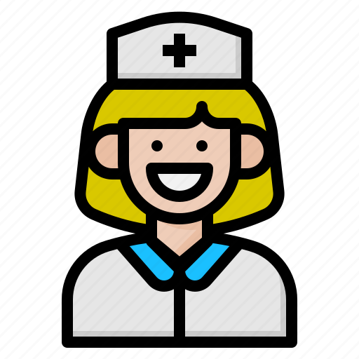 hat, hospital, medical, nurse icon