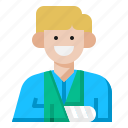 document, hospital, infomation, medical, paper, patient, profile icon