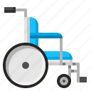 cripple, disabled, medical, wheelchair icon