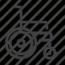 chair, disabled, invalid, wheel, wheelchair icon
