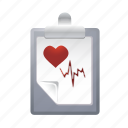 checklist, data, document, healt, list icon