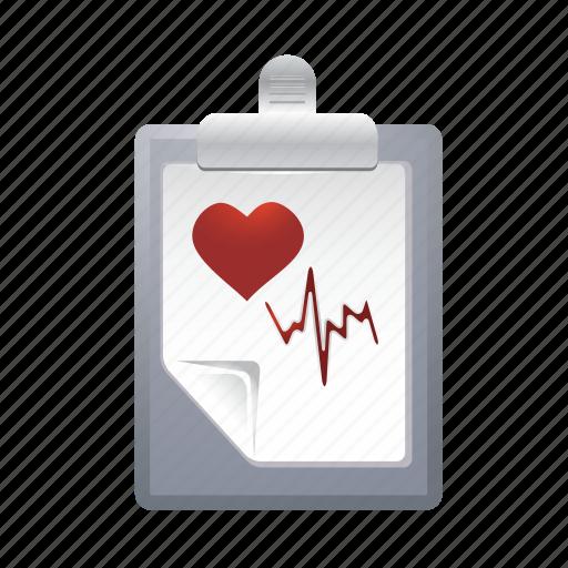 checklist, data, document, healt, list icon