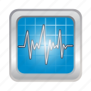 health, medic, medical, paramedic, presuremeter icon
