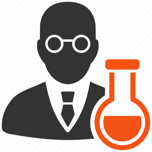 chemical, chemist, labs, professor, research, retort, science icon