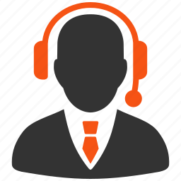dispatcher, hotline, online support, operator, question, receptionist, service icon
