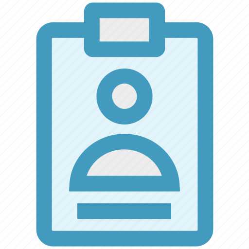 Card, clinic card, clipboard, hospital card, id card, reception card icon - Download on Iconfinder