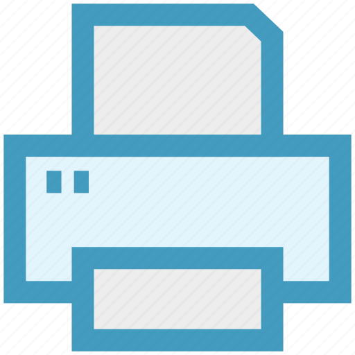 Device, fax, output, paper, print, printer icon - Download on Iconfinder