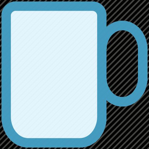 Beer, coffee mug, drink, glass, handle, mug icon - Download on Iconfinder