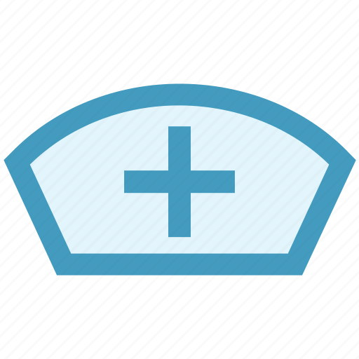 Hat, hospital, medical hat, nurse, nurse hat, user icon - Download on Iconfinder