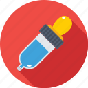 chemical, color picker, dropper, laboratory, pipette icon