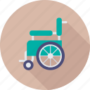 disability, handicap, paralyzed, paraplegic, wheelchair icon