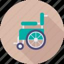 handicap, disability, wheelchair, paraplegic, paralyzed icon
